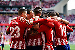 Fernando Torres of Atletico de Madrid celebrating his score with teammates during the La Liga match between Atletico Madrid and Eibar at Wanda Metropolitano Stadium on May 20, 2018 in Madrid, Spain. Photo by Diego Souto / Power Sport Images