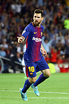 UEFA Champions League 2017/2018 - Matchday 1.<br /> FC Barcelona vs Juventus Football Club: 3-0.<br /> Lionel Messi.