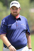 Shane Lowry (IRL) on the 1st green during Saturday's Round 3 of the 2017 PGA Championship held at Quail Hollow Golf Club, Charlotte, North Carolina, USA. 12th August 2017.<br /> Picture: Eoin Clarke | Golffile<br /> <br /> <br /> All photos usage must carry mandatory copyright credit (&copy; Golffile | Eoin Clarke)