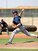 Adam Miller / Cleveland Indians 2008 Instructional League..Photo by:  Bill Mitchell/Four Seam Images