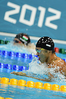 Kosuke Kitajima Japan Men's 4x100 Medley Relay.London 4/8/2012 Aquatics Center.London 2012 Olympic games - Olimpiadi Londra 2012.Swimming - Nuoto.Foto Andrea Staccioli Insidefoto
