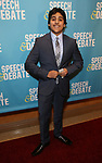 Amitoz Singh attends Broadway Red Carpet Premiere of 'Speech & Debate'  at the American Airlines Theatre on April 2, 2017 in New York City.