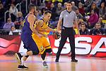 League ACB-ENDESA 2017/2018 - Game: 12.<br /> FC Barcelona Lassa vs Herbalife Gran Canaria: 77-88.<br /> Juan Carlos Navarro vs Marcus Eriksson.