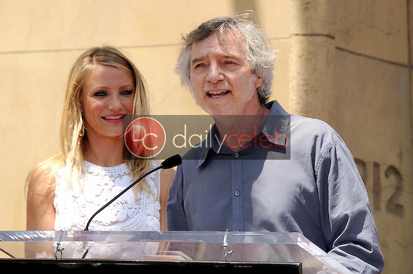 Cameron Diaz and Curtis Hanson<br />