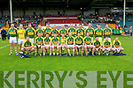 The kerry team who played Limerick in the Munster Junior Championship Semi final held in the Gaelic Grounds last Saturday.