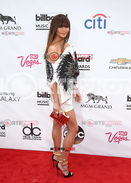 LAS VEGAS, NV - May 18 : Chrissy Teigan  pictured at 2014 Billboard Music Awards at MGM Grand in Las Vegas, NV on May 18, 2014. ©EK/Starlitepics