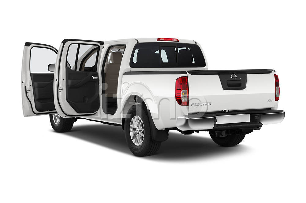 Car images close up view of a 2019 Nissan Frontier SV 4 Door Pick Up doors