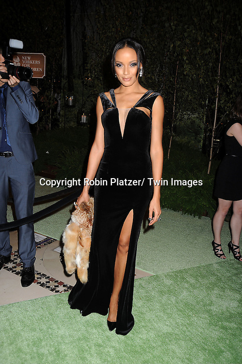 Selita Ebanks attends the New Yorkers for Children 2012 Fall Gala to benefit youth in foster care on September 18, 2012 at Cipriani 42nd Street in New York City.