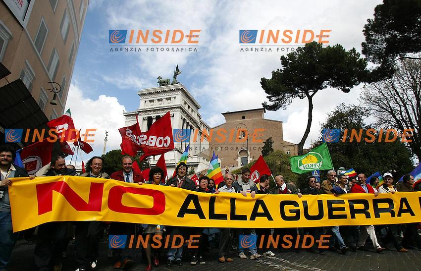 Roma 12/4/2002<br /> Manifestazione per la Pace
