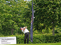 Brendan McGovern (Headfort GC) on the 10th tee during Round 1 of the Titleist &amp; Footjoy PGA Professional Championship at Luttrellstown Castle Golf &amp; Country Club on Tuesday 13th June 2017.<br /> Photo: Golffile / Thos Caffrey.<br /> <br /> All photo usage must carry mandatory copyright credit     (&copy; Golffile | Thos Caffrey)