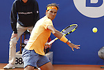 20.04.2016 Barcelona Open Banc Sabadell, atp 500. Picture show Rafa Nadal in action at central court from Reial Club de Tennis de Barcelona