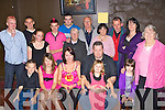 Rhea O'Connor Killorglin seated centre celebrates her 18th birthday with her family and friends in the Soda club Killorglin on Friday night
