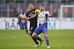 Krzysztof Piatek of AC Milan tussles with Julian Chabot of Sampdoria during the Serie A match at Giuseppe Meazza, Milan. Picture date: 6th January 2020. Picture credit should read: Jonathan Moscrop/Sportimage