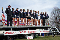2012 MO State XC Class 4 Girls Team Awards