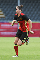 20170613 - LEUVEN ,  BELGIUM : Belgian Heleen Jaques pictured during the female soccer game between the Belgian Red Flames and Japan , a friendly game before the European Championship in The Netherlands 2017  , Tuesday 13 th Juin 2017 at Stadion Den Dreef  in Leuven , Belgium. PHOTO SPORTPIX.BE | DIRK VUYLSTEKE