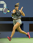 Madison Keys defeats Coco Vandeweghe in the semifinal at the US Open