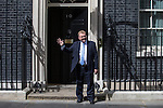 © Joel Goodman - 07973 332324 . 11/05/2015 . London , UK . DAVID MUNDELL arrives at 10 Downing Street this afternoon (11th May 2015) . Photo credit : Joel Goodman