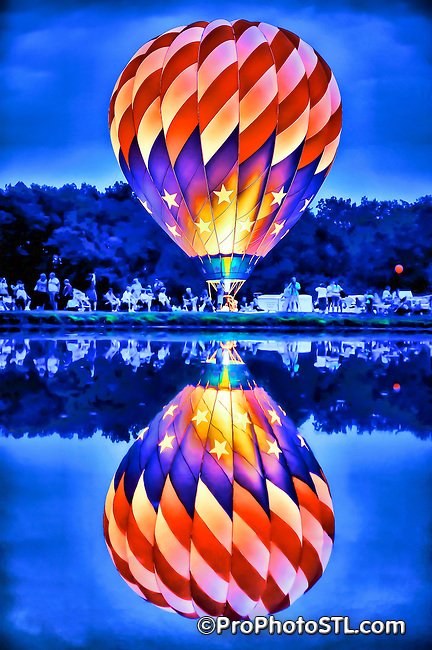 Balloon Fest in Centralia, IL on Aug 20-22, 2010.