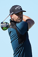 Haydn Porteous (RSA) on the 6th tee during Round 2 of the Abu Dhabi HSBC Championship 2020 at the Abu Dhabi Golf Club, Abu Dhabi, United Arab Emirates. 17/01/2020<br /> Picture: Golffile   Thos Caffrey<br /> <br /> <br /> All photo usage must carry mandatory copyright credit (© Golffile   Thos Caffrey)