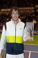 17-12-11, Tennis, Netherlands, Rotterdam, Masters, Robin Haase met de IC award