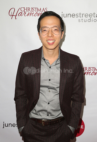 "LOS ANGELES, CA - NOVEMBER 7: Kenton Chen, at Premiere of Lifetime's ""Christmas Harmony"" at Harmony Gold Theatre in Los Angeles, California on November 7, 2018. Credit: Faye Sadou/MediaPunch"