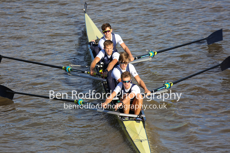 Crew: 43  ISI (B)  Isis BC (C Pearson)  4+ Acad Champ<br /> <br /> Fours Head of the River 2018<br /> <br /> To purchase this photo, or to see pricing information for Prints and Downloads, click the blue 'Add to Cart' button at the top-right of the page.
