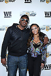 Master P and Cymphonique Attend WE TV's Growing Up Hip Hop Premiere Party Held at Haus