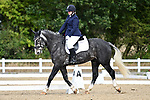 Stapleford Abbotts. United Kingdom. 05 October 2019. Class 4. Unaffiliated dressage championships. Brook Farm training centre. Essex. UK.~ 05/10/2019.  MANDATORY Credit Garry Bowden/SIPPA - NO UNAUTHORISED USE - 07837 394578