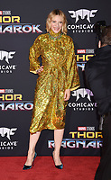 LOS ANGELES, CA - OCTOBER 10: Actress Cate Blanchett arrives at the premiere of Disney and Marvel's 'Thor: Ragnarok' at the El Capitan Theatre on October 10, 2017 in Los Angeles, California.<br /> CAP/ROT/TM<br /> &copy;TM/ROT/Capital Pictures