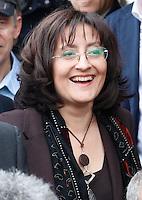 Presentazione dei candidati al consiglio comunale di Napoli del movimento cinque stelle<br /> Marta Matano