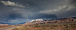 Dramatic Stormy Sky - Route 9 a few miles before Zion National Park, Utah.