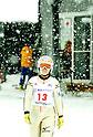 Sara Takanashi (JPN).FEBRUARY 7, 2012 - Ski Jumping : 15 year-old Sara Takanashi of Japan is seen during the All-Japan Ski Jumping Championship women's NH at Miyanomori Jump Stadium in Sapporo, Japan. Takanashi won the competition...(Photo by AFLO)