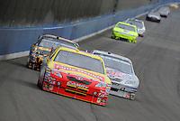 Oct. 11, 2009; Fontana, CA, USA; NASCAR Sprint Cup Series driver Marcos Ambrose during the Pepsi 500 at Auto Club Speedway. Mandatory Credit: Mark J. Rebilas-