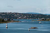 Norwegen, Oslo, Blick auf Oslo Fjord