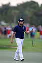Tyrrell Hatton (ENG) during the final round of the Abu Dhabi HSBC Golf Championship played at Abu Dhabi Golf Club 19-22 January 2017.(Picture Credit / Phil Inglis)