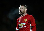 Wayne Rooney of Manchester United during the English League Cup Quarter Final match at Old Trafford  Stadium, Manchester. Picture date: November 30th, 2016. Pic Simon Bellis/Sportimage