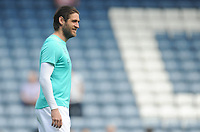 Blackburn Rovers' Danny Graham during the pre-match warm-up <br /> <br /> Photographer Kevin Barnes/CameraSport<br /> <br /> The EFL Sky Bet Championship - Blackburn Rovers v Bolton Wanderers - Monday 22nd April 2019 - Ewood Park - Blackburn<br /> <br /> World Copyright © 2019 CameraSport. All rights reserved. 43 Linden Ave. Countesthorpe. Leicester. England. LE8 5PG - Tel: +44 (0) 116 277 4147 - admin@camerasport.com - www.camerasport.com