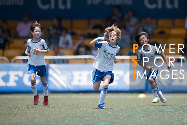 U-9 Juniors Tournament Cup Final match, part of the HKFC Citi Soccer Sevens 2017 on 28 May 2017 at the Hong Kong Football Club, Hong Kong, China. Photo by Marcio Rodrigo Machado / Power Sport Images
