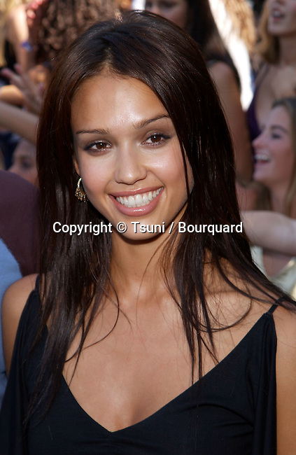 Actress Jessica Alba arrives at the 2001 Teen Choice Awards held at the Universal Amphitheatre in Los Angeles, CA., August 12, 2001.  35_AlbaJessica07.jpg