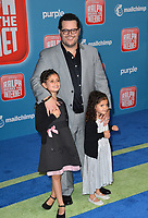 LOS ANGELES, CA. November 05, 2018: Josh Gad, Ava Gad &amp; Isabella Gad at the world premiere of &quot;Ralph Breaks The Internet&quot; at the El Capitan Theatre.<br /> Picture: Paul Smith/Featureflash