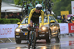 Jos Van Emden (NED) Lotto NL-Jumbo in action during Stage 1, a 14km individual time trial around Dusseldorf, of the 104th edition of the Tour de France 2017, Dusseldorf, Germany. 1st July 2017.<br /> Picture: Eoin Clarke | Cyclefile<br /> <br /> <br /> All photos usage must carry mandatory copyright credit (&copy; Cyclefile | Eoin Clarke)