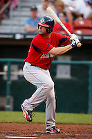 July 28, 2009:  Bubba Bell of the Pawtucket Red Sox during a game at Coca-Cola Field in Buffalo, NY.  Pawtucket is the International League Triple-A affiliate of the Boston Red Sox.  Photo By Mike Janes/Four Seam Images