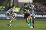 Henry Fa'afili.RaboDirect Pro12.Cardiff Blues v Connacht.Cardiff Arms Park..10.02.12.©Steve Pope