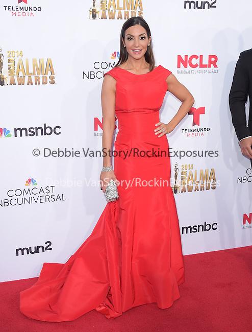 Courtney Mazza Lopez attends The 2014 NCLR Alma Awards held at The Pasadena Civic Center in Pasadena, California on October 10,2014                                                                               © 2014 Hollywood Press Agency