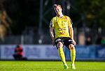 ***BETALBILD***  <br /> Uppsala 2015-05-21 Fotboll Superettan IK Sirius - Mj&auml;llby AIF :  <br /> Mj&auml;llbys Marcus Ekenberg deppar under matchen mellan IK Sirius och Mj&auml;llby AIF <br /> (Foto: Kenta J&ouml;nsson) Nyckelord:  Superettan Sirius IKS Mj&auml;llby AIF depp besviken besvikelse sorg ledsen deppig nedst&auml;md uppgiven sad disappointment disappointed dejected portr&auml;tt portrait