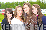 Enjoying the sunshine at Killarney Races on Sunday was l-r: Laura galvin, Tricia Murphy, Katie O'Leary and Honor Galvin Killarney   Copyright Kerry's Eye 2008