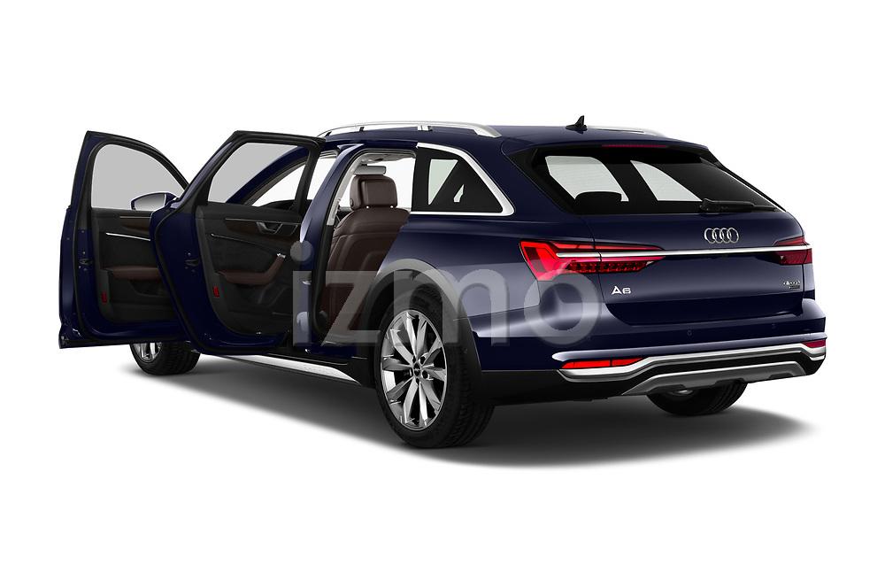 Car images close up view of a 2020 Audi A6 allroad quattro Base 5 Door Wagon doors
