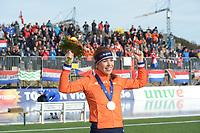 SPEED SKATING: COLLALBO: Arena Ritten, 12-01-2019, ISU European Speed Skating Championships, European Champion Allround Antoinette de Jong (NED), ©photo Martin de Jong