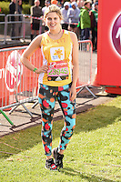 Ashley James<br /> at the start of the 2016 London Marathon, Blackheath, Greenwich London<br /> <br /> <br /> &copy;Ash Knotek  D3108 24/04/2016