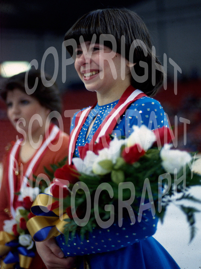 Tracy Wainman Canada. 1981 Canadian championships. Photo copyright Scott Grant